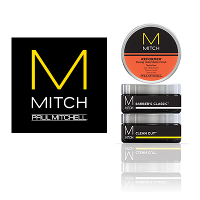 Get your MITCH products by Paul Mitchell at your local Sport Clips store